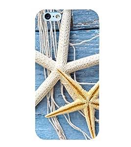Star fish 3D Hard Polycarbonate Designer Back Case Cover for Apple iPhone 6