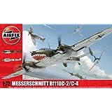 Airfix A03080 Messerschmitt Bf110C/D 1:72 Scale Series 3 Plastic Model Kit