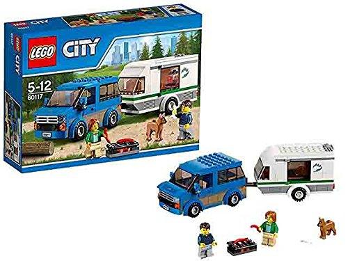Costruzioni lego city furgone e caravan giocattolo gioco idea regalo natale #ag17