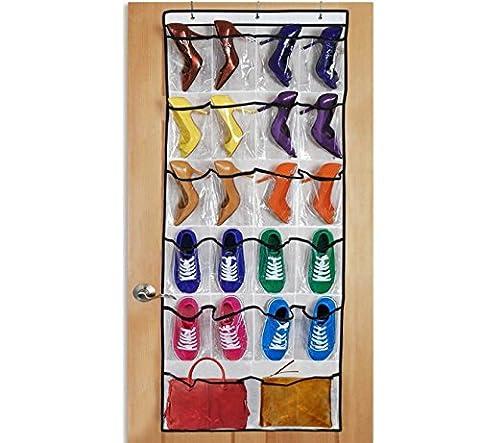 Go Shoe Organizer™ ★ Over-the-door Shoe Organizer ★ 24 Pockets