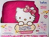 bebe Hello Kitty 4-tlg. Geschenkset + Tasche (Pflegemilch 300ml, Shampoo & Dusche 200ml, Zartcreme 150ml & 50ml)