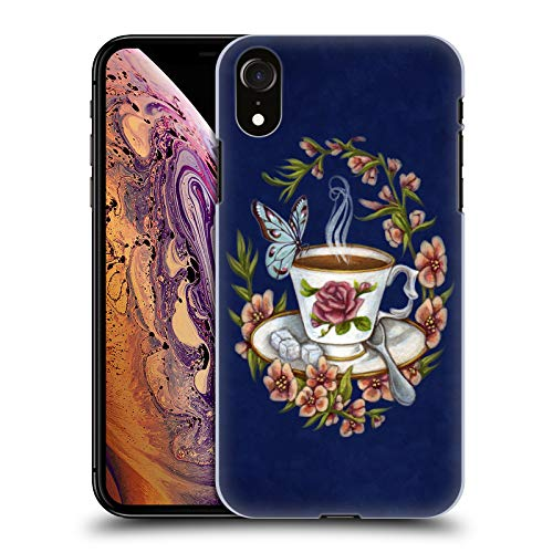Price comparison product image Official Brigid Ashwood Tea And Company 2 Vintage Romance 2 Hard Back Case for iPhone XR