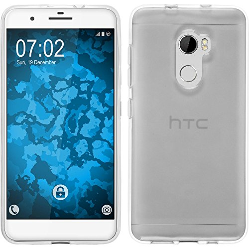 PhoneNatic Case für HTC One X10 Hülle Silikon Crystal Clear, transparent Cover