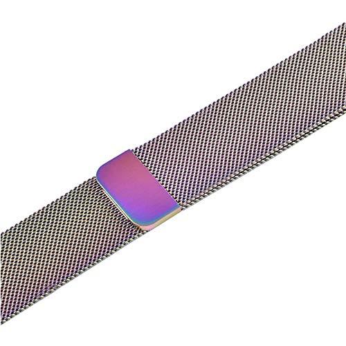 XJWW Competitivo con/per Apple 5 Band 44mm 40mm Iwatch Band 42mm 38mm Accessori per orologi da polso 4 3 2 1 42mm colorato