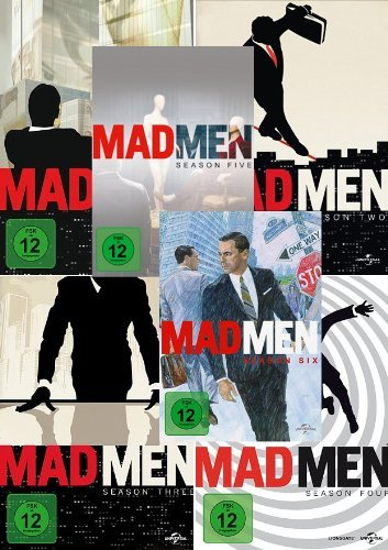 Mad Men - Die komplette 1. + 2. + 3. + 4. + 5. + 6. Season (24-Disc | 6-Boxen) - Tv-season Mad 5 Dvd