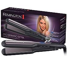 Remington S5525 Pro-Ceramic Piastra Extra Larga, Nero