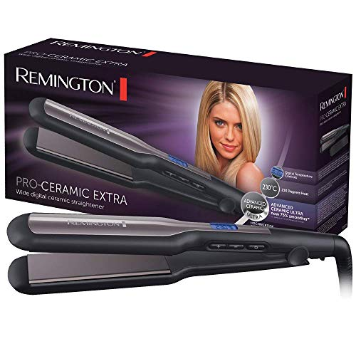 Remington S5525 Pro Ceramic Piastra Extra Larga Nero