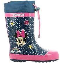 Disney Girls Kids Boots Rainboots, Botas de Agua para Niñas