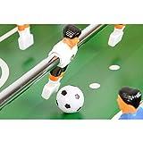 """Spielfigur mit Ball von Maxstore Tischfussball """"Leeds"""", helles Holzdekor"""