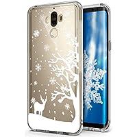 Huawei Mate 9 Hülle,Huawei Mate 9 Silikon Hülle Tasche Handyhülle,SainCat Christmas Weihnachten Muster TPU Schutz... preisvergleich bei billige-tabletten.eu