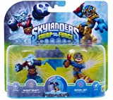 Skylanders Swap Force - Double Pack 3 - Boom Jet, Night Shift [Importación Alemana]