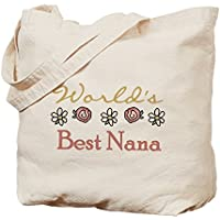 CafePress–del mondo migliore Nana–Borsa di tela naturale, panno borsa per