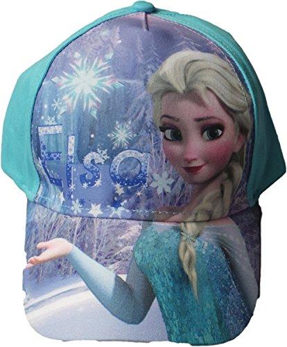 Disney Frozen/Die Eiskönigin Cap - Eistanz - Elsa - Türkis/Mehrfarbig
