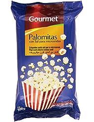 Gourmet Palomitas Con Sal Para Microondas - Pack De 3 x 100 g - Total: 300 g