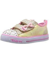 Skechers Shuffles-Itsy Bitsy, Baskets Bébé Fille, Rose
