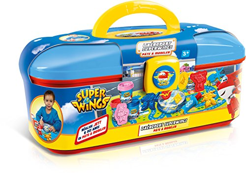 Canal Toys - CT13503- Pâte à Modeler - Super Wings - L'aéroport Super Wings