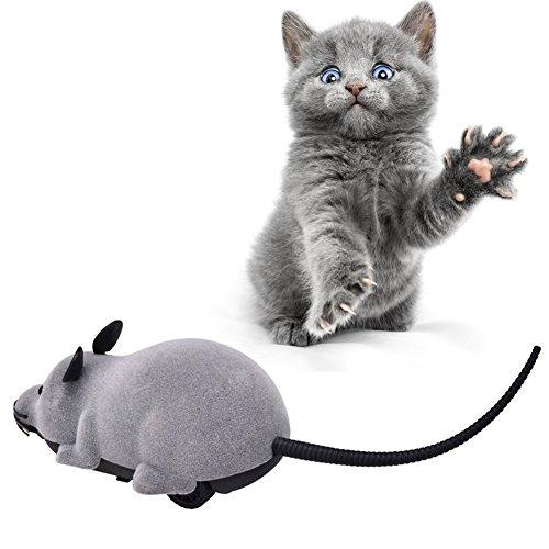 PanDaDa Haustier Katzen Hunde Neuheit Geschenk Spielzeug Lustige Ratte Maus Wireless Elektronische Fernbedienung - 2