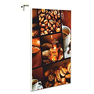 Pinnwand Magnettafel Memoboard Magnettafel Motiv Kaffee Mühle (40 x 60 cm)