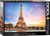 Eurographics 6000–0765Paris Eiffelturm Puzzle (1000Teile)