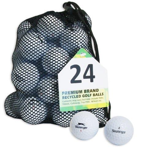 Second Chance Slazenger 24 balles de golf de récupération...