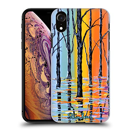 Price comparison product image Official Steven Brown Forest Of Argyle Nature Hard Back Case for iPhone XR
