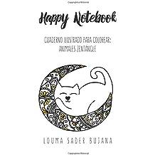 Happy Coloring Mini Notebook: Animales Zentangle: Cuaderno ilustrado para colorear: Volume 3 (Cuadernos ilustrados para colorear)
