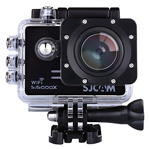 Preisvergleich Produktbild SJCAM Original SJ5000X Elite Sports Action Camera Full HD 4K 1080P 12MP 170¡ãWide Angle Lens with Sony IMX078 Sensor Gyro Waterproof WiFi HDMI with Free Accessories for Helmet Diving Bicycle Car DVR