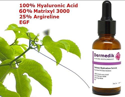 60% MATRIXYL 3000-Serum mit 25% ARGIRELINE, HYALURONSÄURE und EFG 30 ml
