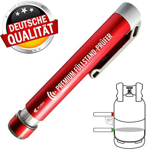 CAGO Premium Gas Füllstandsanzeiger Gasstand Anzeige Indikator Prüfer für Gasflaschen -