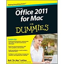 (Microsoft Office 2011 for Mac for Dummies) By LeVitus, Bob (Author) Paperback on (03 , 2011)