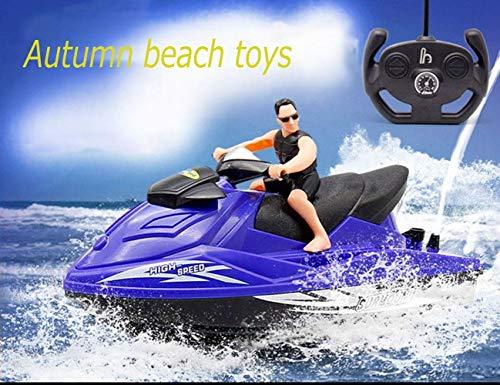Kinderfernsteuerungs-Boots-Motorboot-Baby-Spiel-Wasser-Bad-Kreuzfahrtschiff-elektrisches Boots-Modell-Bewegungsspielzeug-Wasser-Jet-Motorboot