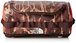The North Face Base Camp Travel Canister Bag - Brown/Brunette Brown Catalog Print, Small