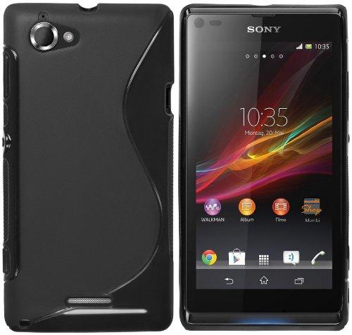 mumbi S-TPU Schutzhülle Sony Xperia L Hülle