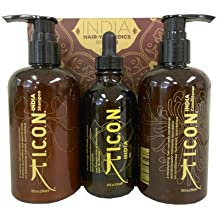 ICON India Oil Set India Oil Set Shampoo + Conditioner + Öl