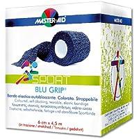 BLU GRIP® kohäsive Haftfixierbinde, selbstklebende, elastische Sport-Binde, Stützbandage per Hand reißbar (6 cm... preisvergleich bei billige-tabletten.eu