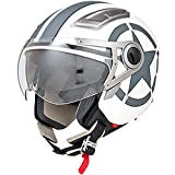 DOT Approved Motorcycle Helmet 3/4 Open Face Matte - Best Reviews Guide
