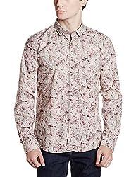 Park Avenue Mens Casual Shirt (8907663015964_PCSA01399-F4_42_Medium Fawn)