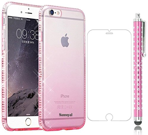 para-iphone-6-funda-sunroyalr-premium-carcasa-ultra-delgado-flexible-suave-elegante-y-chic-case-cove