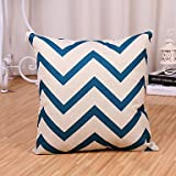 Best Blue Wave Soft Pillows - Pillow cover 1 Pcs Modern Style Blue Wave Review