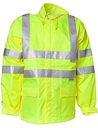 """Planam Regen-Jacke """"Warnschutz"""", Größe XL in gelb, 1 Stück, 2062056"""