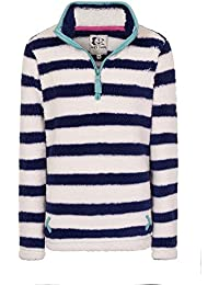 Lazy Jacks Stripe Snug 1/4 Zipped Fleece LJ86
