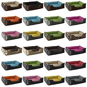 BedDog LUPI lit pour chien de S à XL, 24 couleurs au choix, coussin de chien, lit pour chien, panier pour chien