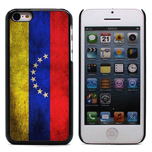Graphic4You Vintage Uralt Flagge Von Guatemala Guatemalteke Design Harte Hülle Case Tasche Schutzhülle für Apple iPhone 5C Venezuela Venezolanisch