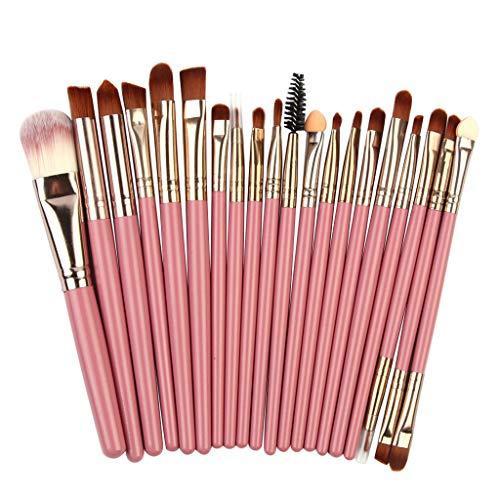 DaySing Brosse Makeup Brushes,Professionnelle Kits ,20Pcs Pinceaux De Maquillage Poudre Base Fard à PaupièRes Pinceau CosméTique LèVre Makeup Brushes Brush Beauté Maquillage