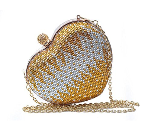 GBT Art- und Weiseliebes-Paket-Kettenbeutel Gold