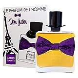 Le Parfum de l'Homme DON JUAN Eau de toilette UOMO Paris Elysees 100 Ml + Spedizione gratuita