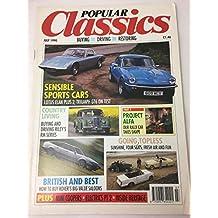 Popular Classics Magazine July 1990 Lotus Elan Plus 2 Triumph GT6 Mini Cooper