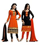 Mannat Fashion Women's Cotton Salwar Sui...