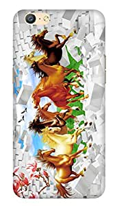 WOW Printed Designer Mobile Case Back Cover For Oppo A57