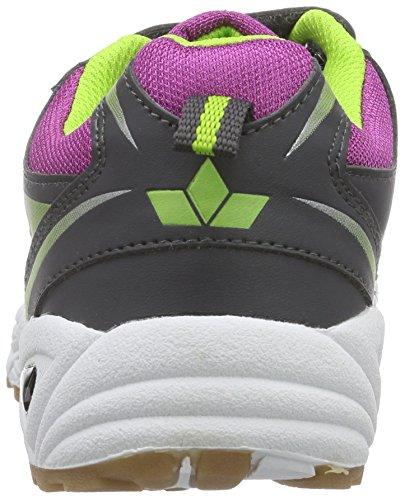 Lico - Scarpe da ginnastica, Bambina Viola (Violett (lila/anthrazit/lemon))